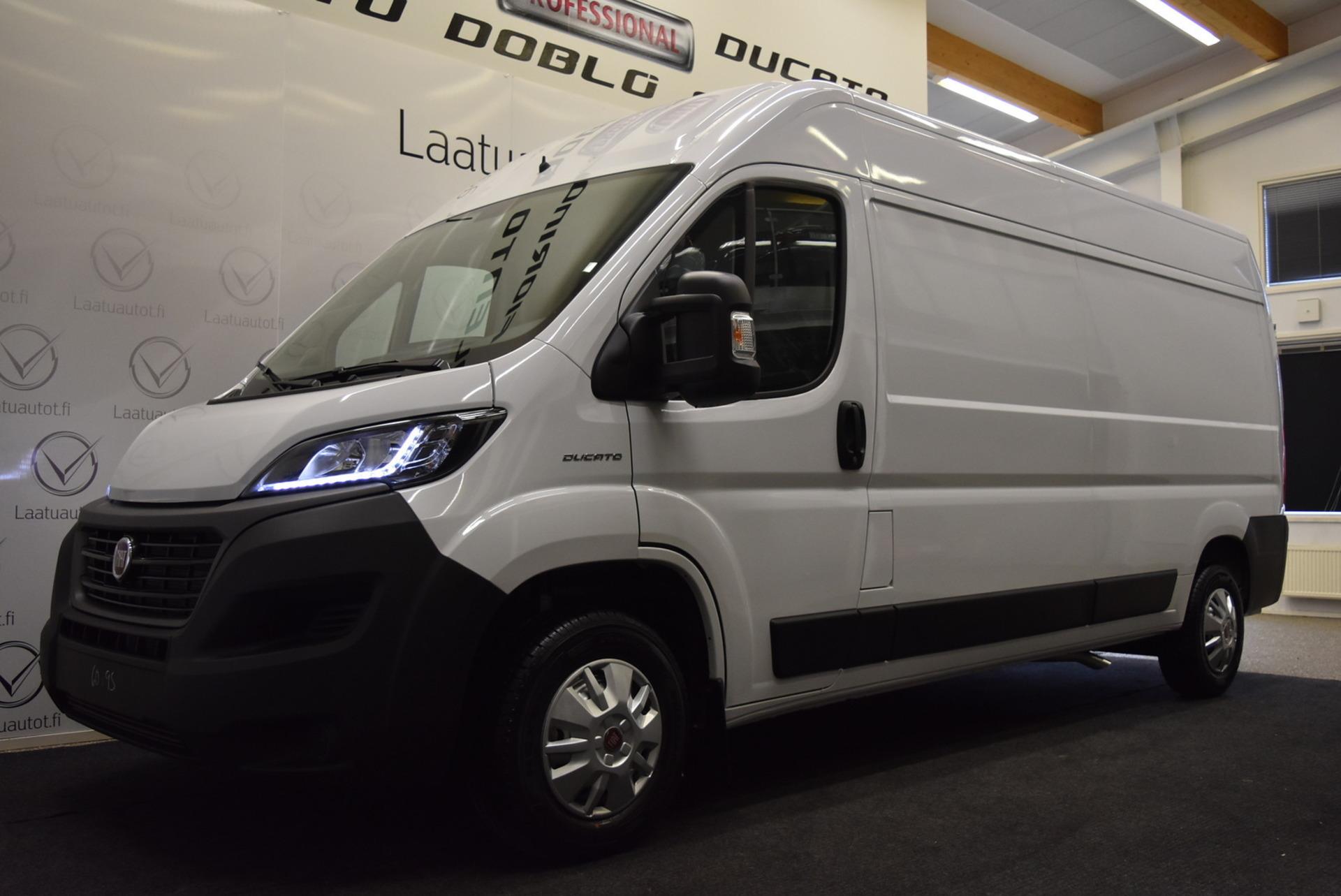 FIAT DUCATO 2, 3 Multijet 140 13m3 L3H2 Pack 3 - Uusi auto nopeaan toimitukseen 0% korolla + kulut! Kaupan päälle talvirenkaat ja vanerointi!