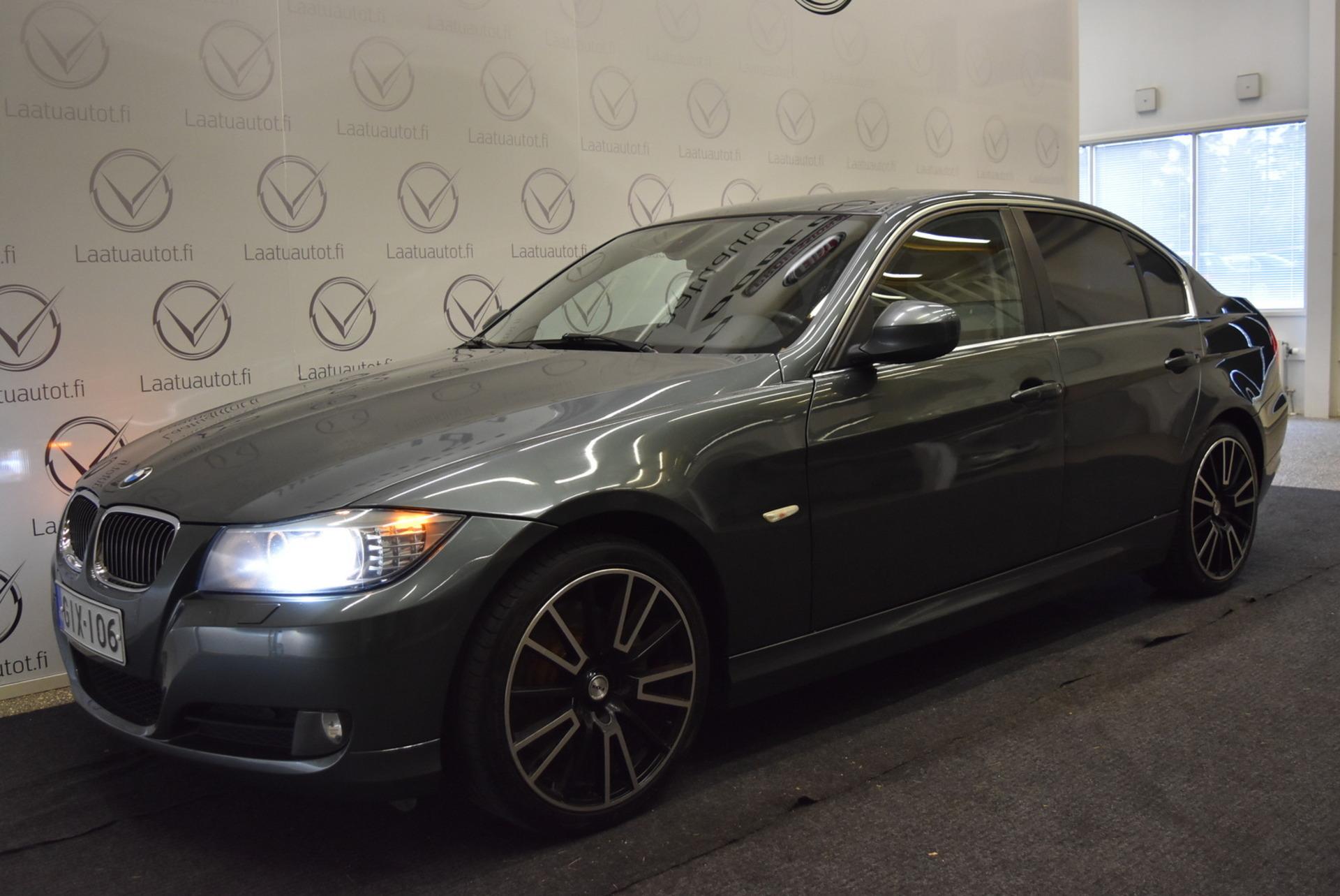 BMW 325 dA E90 Sedan - Korko 1, 89%,  Rahoitus jopa ilman käsirahaa! Suomi auto! Sporttinahat,  ProfNavi,  PDC,  Xenon,  Cruise,  AutoAC!