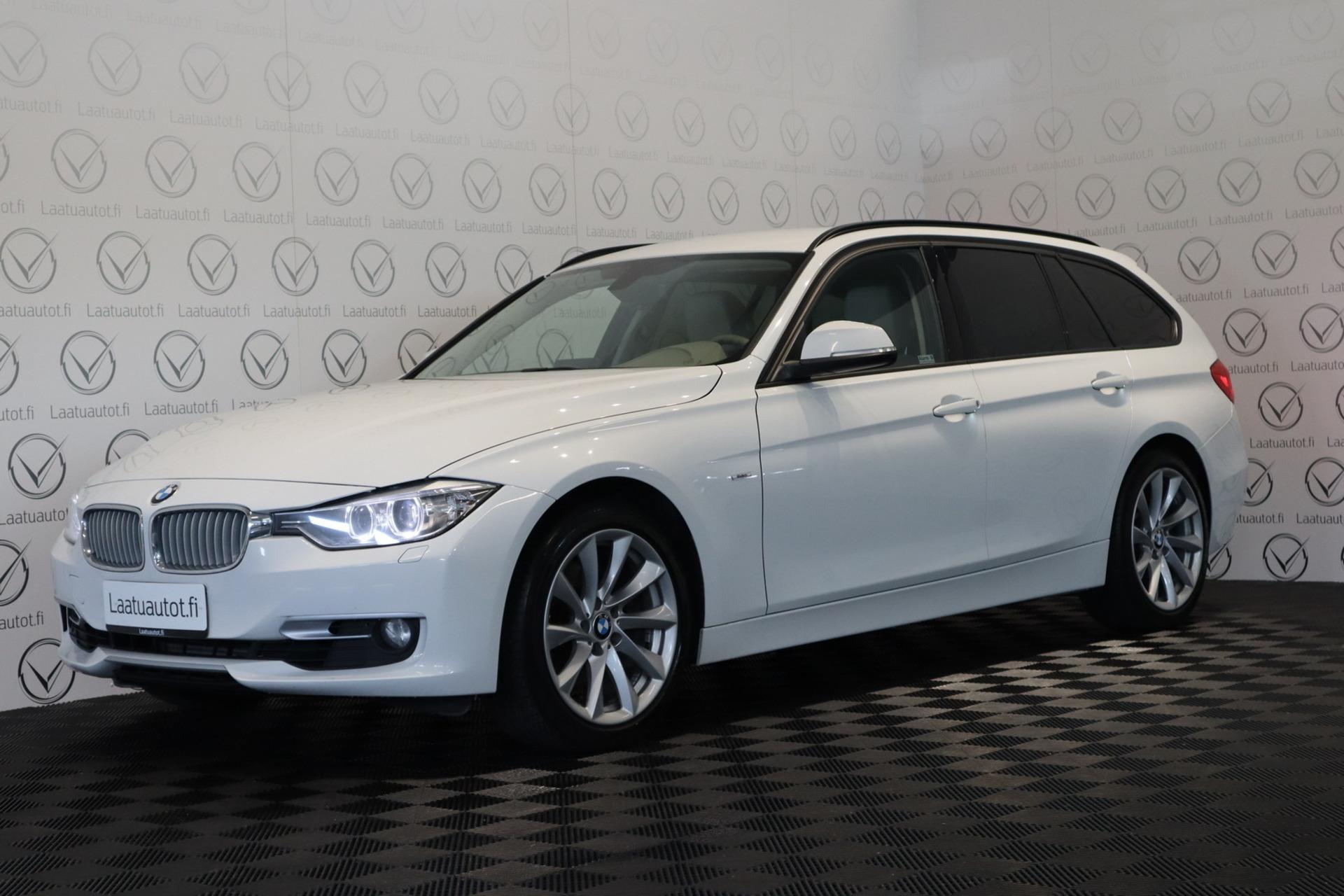 BMW 328 TwinPower Turbo A F31 Touring Business Modern - Korko 1, 89%,  Jopa ilman käsirahaa! Xenon,  Cruise,  AutoAC,  Bluetooth,  PDC!
