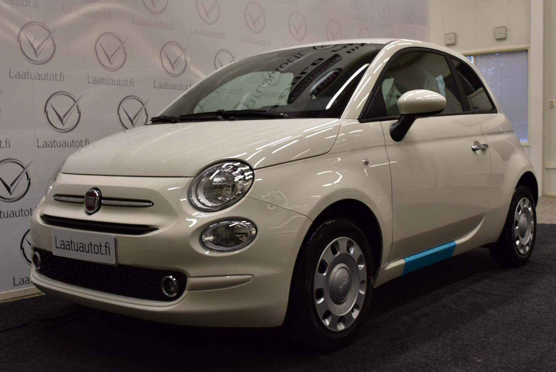 FIAT 500 1, 0 70hv Hybrid MT Pop - Uusi hybrid nopeaan toimitukseen,  korkotarjous 0, 9%+kulut,  jopa ilman käsirahaa.