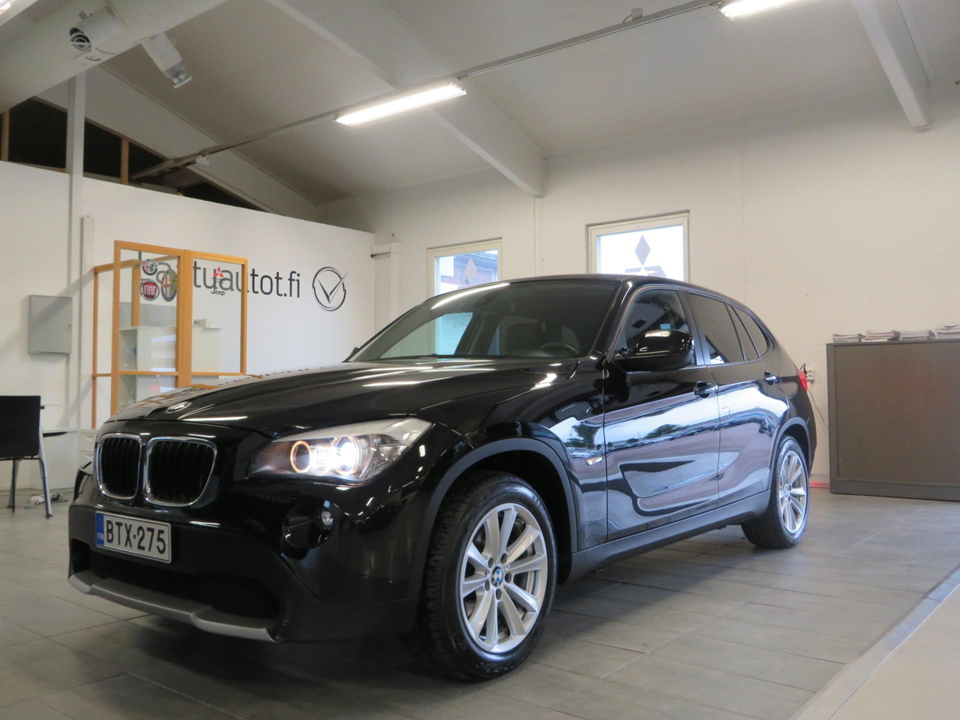 BMW X1 A E84 SAV 20d xDrive - ,  Korko 1, 89%,  rahoitus jopa ilman käsirahaa! Neliveto,  Sport-penkit,  Xenon! Juuri katsastettu ja huollettu!