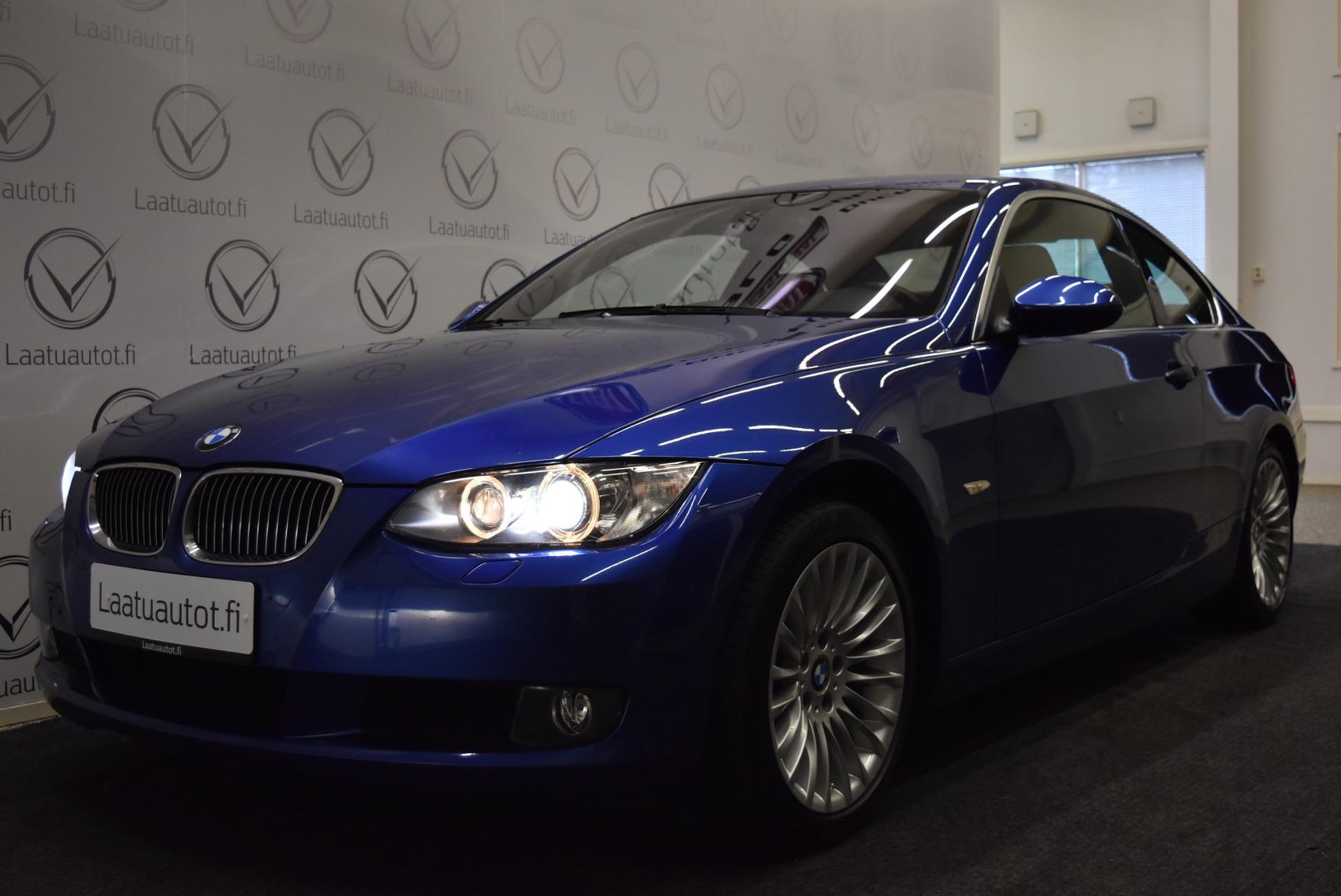 BMW 330 E92 Coupé - Rahoitus 1.89% + kulut! Sport-Nahat sähkösäädöin,  Xenon,  Navi,  Takatutka
