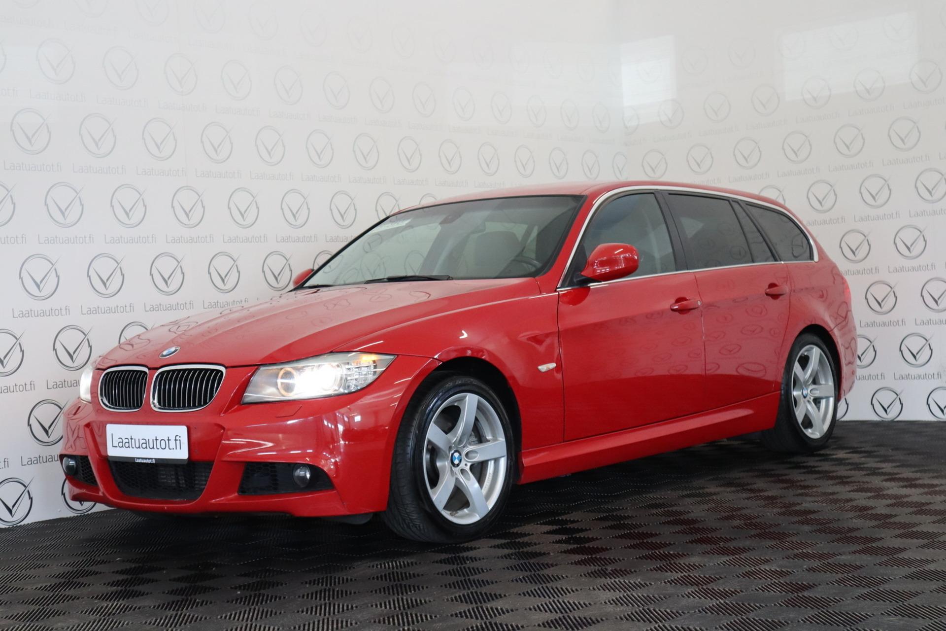 BMW 330 E91 Touring - 180kw,  Xenonit ja Cruise! Vaihto ja Rahoitus,  jopa ilman käsirahaa! Korko 1, 89%