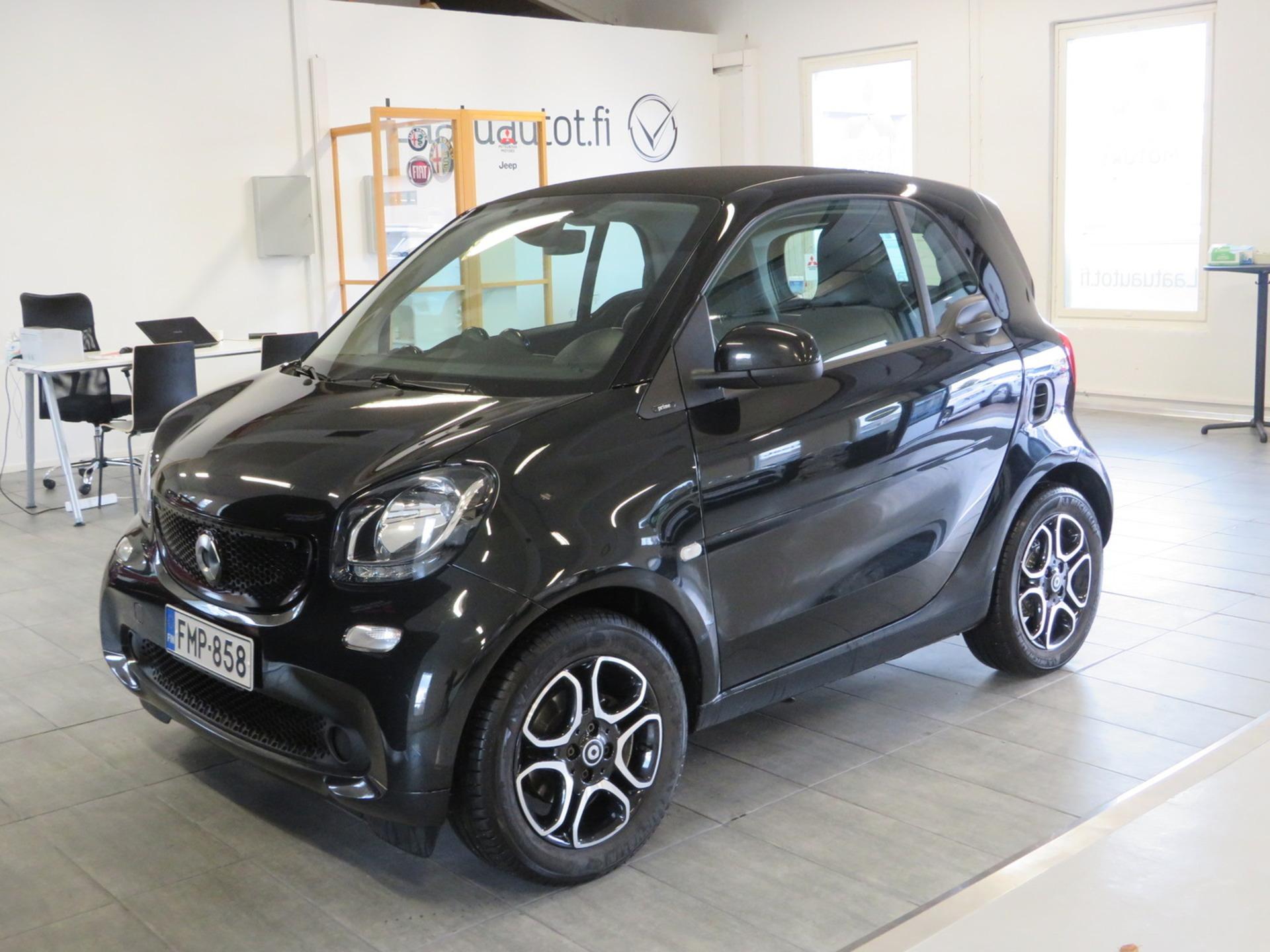 SMART FORTWO coupe prime 52 kW A - ,  Korko 1, 89%,  rahoitus jopa ilman käsirahaa! 1-omistaja,  Nahkasisusta,  Vakionopeudensäädin,  Auto AC!