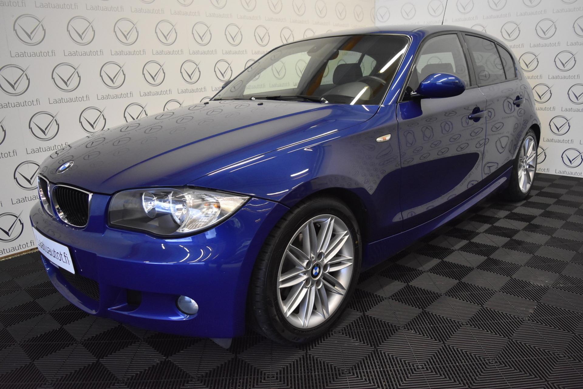 BMW 116 E87 Hatcback M-Sport - Rahoitus 1.89% jopa ilman käsirahaa! Sporttipenkit,  PDC,  Cruise,  AutoAc