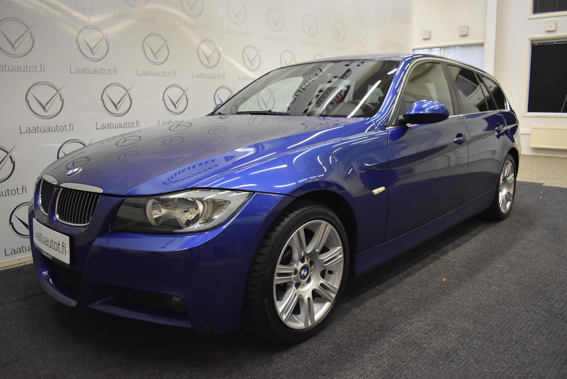BMW 325 E91 Touring - Sport-nahat,  PDC,  Cruise,  AutoAC,  Tutkat ! Rahoitus 1.89% jopa ilman käsirahaa!
