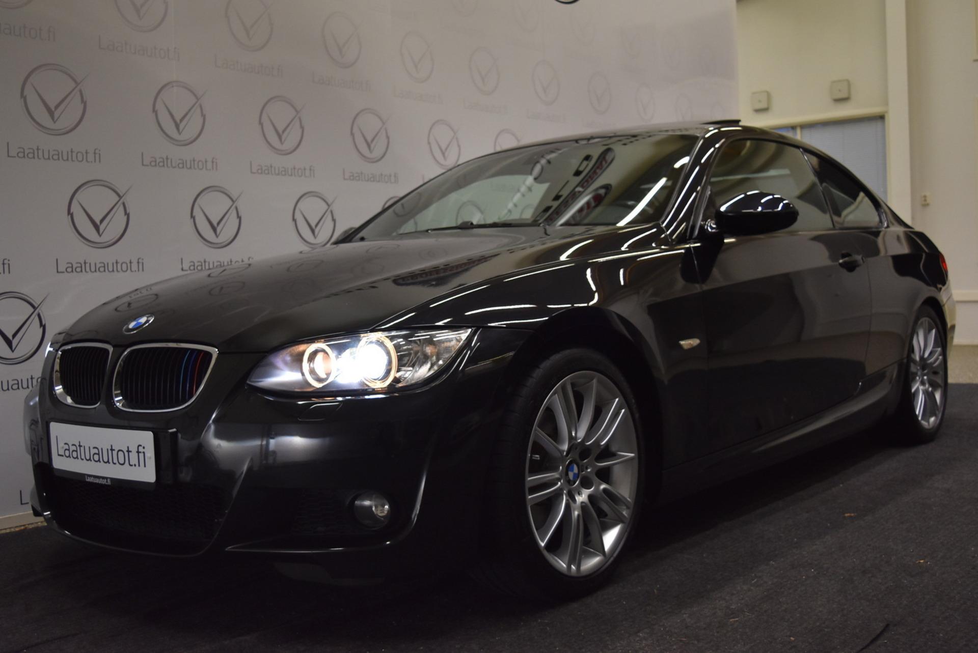 BMW 320 E92 Coupé - M-Sport! Xenon,  Kattoluukku,  Navi! Rahoitus 1, 89% +kulut! Jopa ilman käsirahaa!