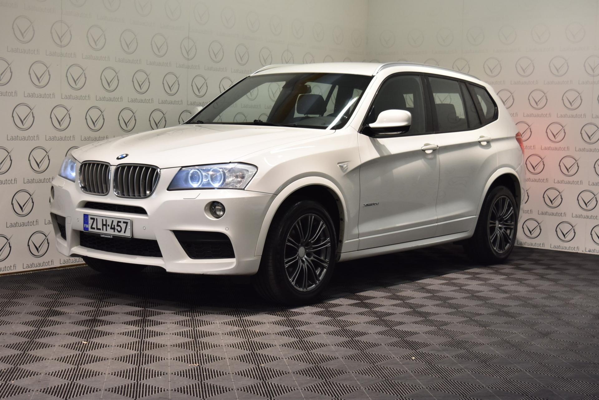 BMW X3 xdrive 30d A F25 M-Sport - Hieno M-Sport jopa ilman käsirahaa 1.89% rahoituksella! Sportpenkit,  ProNavi,  PDC,  Xenon,  Cruise