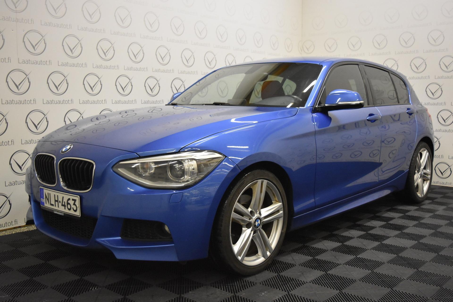 BMW 120 F20 TwinPower Turbo A M-Sport - Korko 1, 89% jopa ilman käsirahaa! M-Sport,  Dakota Nahat,  Xenon,  PDC