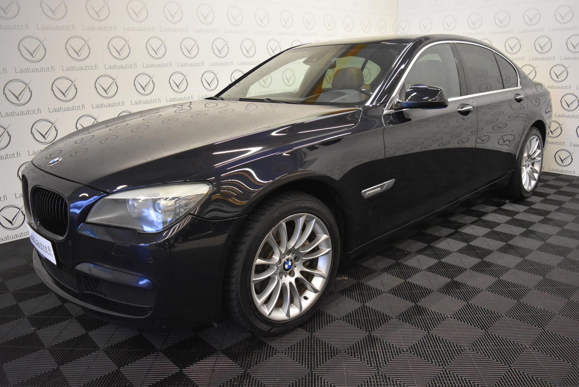 BMW 740 A F01 Sedan M-Sport - Rahoitus 1.89% jopa ilman käsirahaa! HUD,  Comfort nahat muistilla,  ProNavi,  Kaistavahti,  Xenon,  AktiiviCruise,  PDC