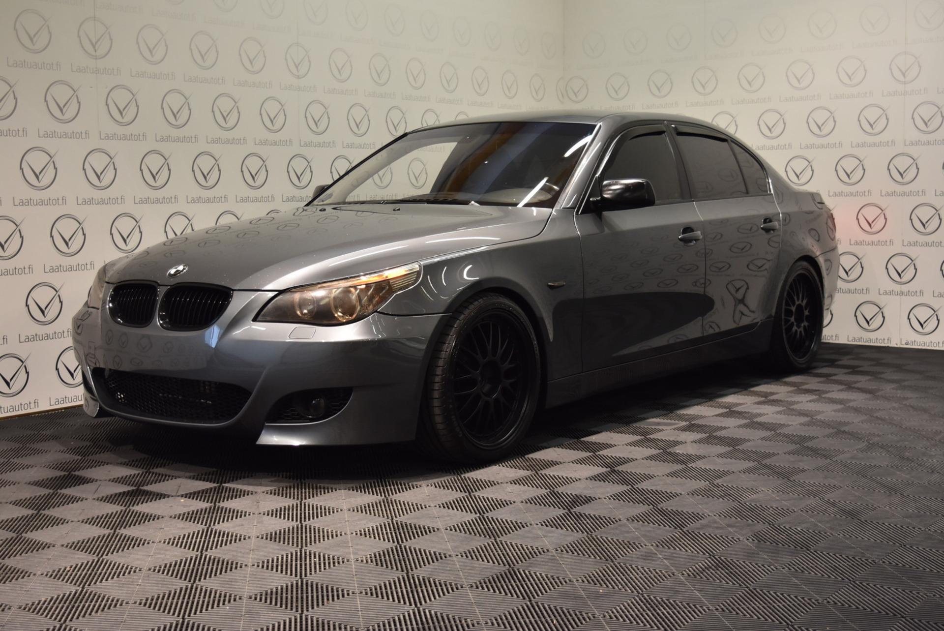 BMW 523 E60 A Sedan - Rahoitus jopa ilman käsirahaa 1.89% ! Suomi-auto,  Nahkasisusta,  Xenon,  PDC,  Cruise,  AutoAc