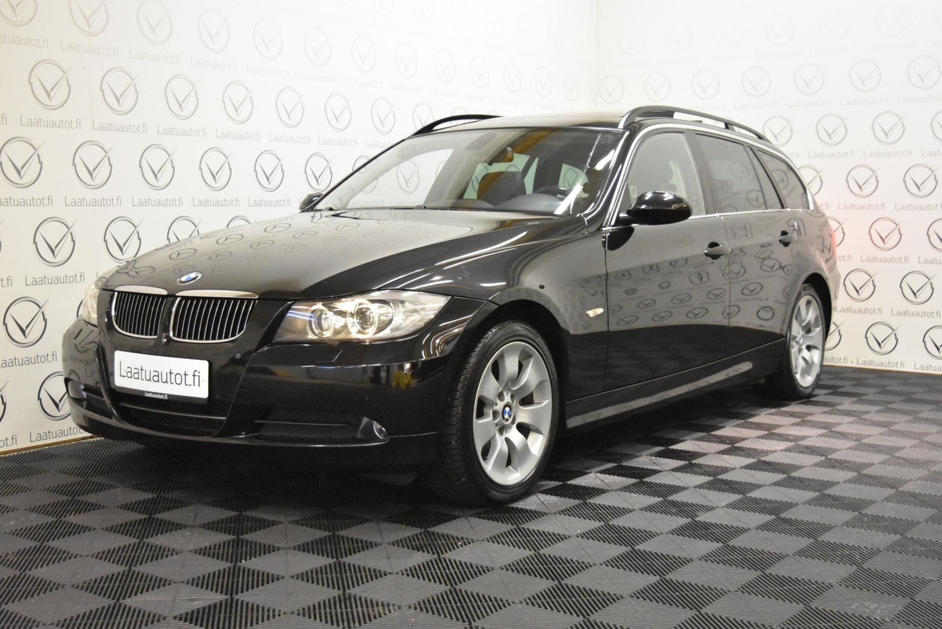 BMW 325DA E91 Touring - Korko 1, 89%,  Rahoitus jopa ilman käsirahaa! **PDC,  Panoraama,  Prof.Navi,  Sporttipenkit**