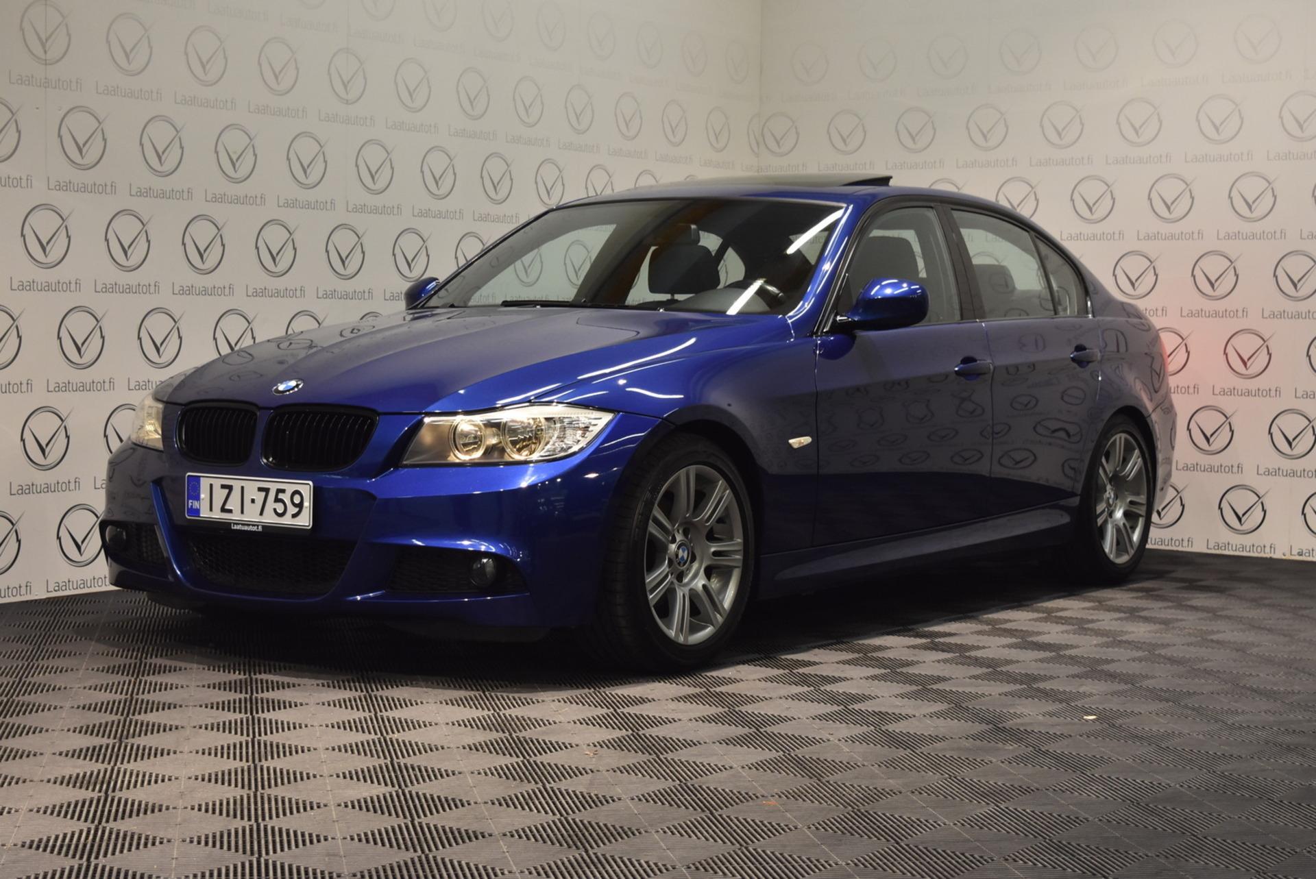 BMW 318 E90 Sedan M-Sport - Rahoitus 1.89% jopa ilman käsirahaa! Sportpenkit,  PDC,  AutoAc,  Kattoluukku