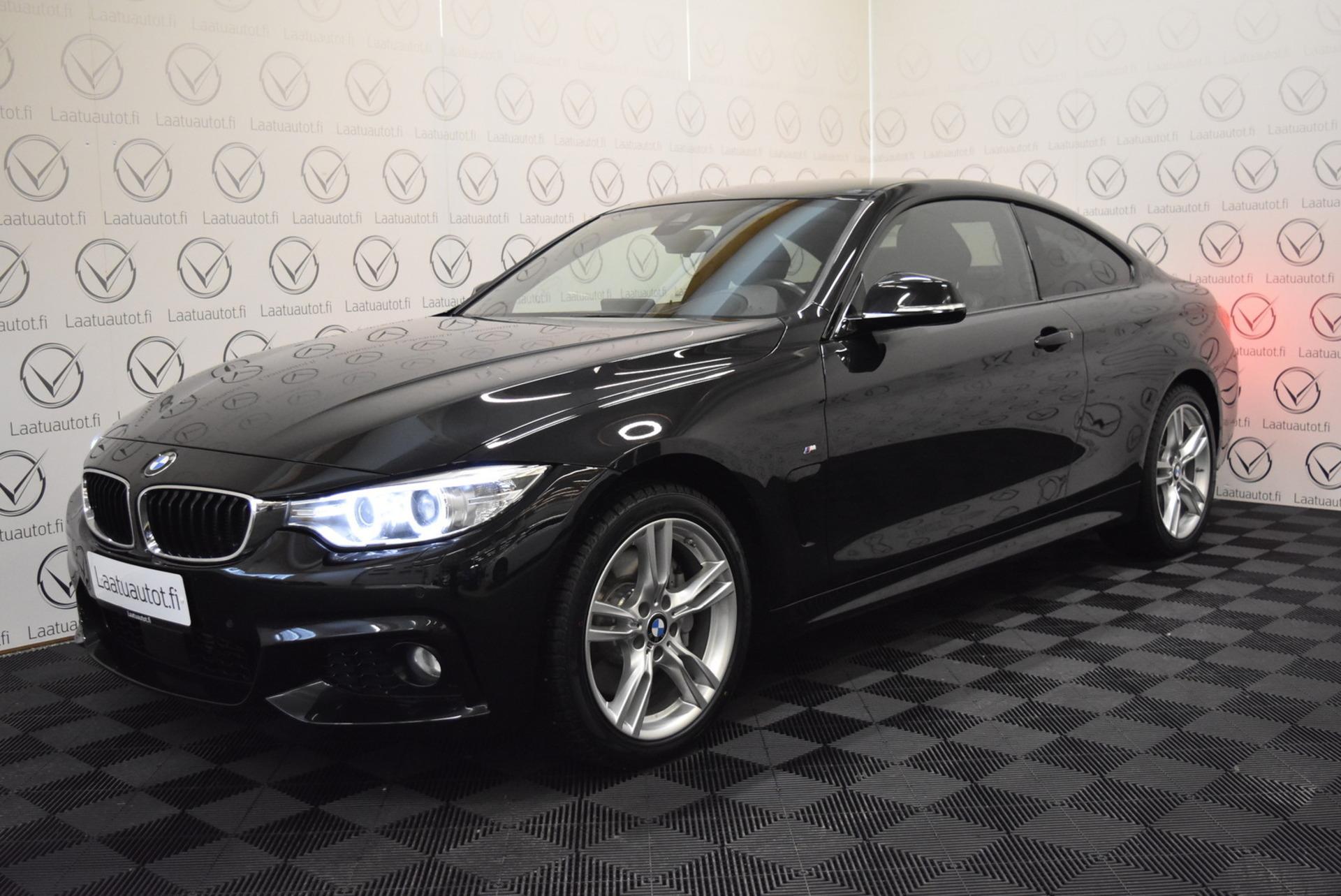 BMW 435 F32 Coupe 435d A xDrive M Sport - Korko: 1, 89% + kulut! Jopa ilman käsirahaa! HUD,  Adaptiivinen cruise,  Hifi,  Navi,  Nahat