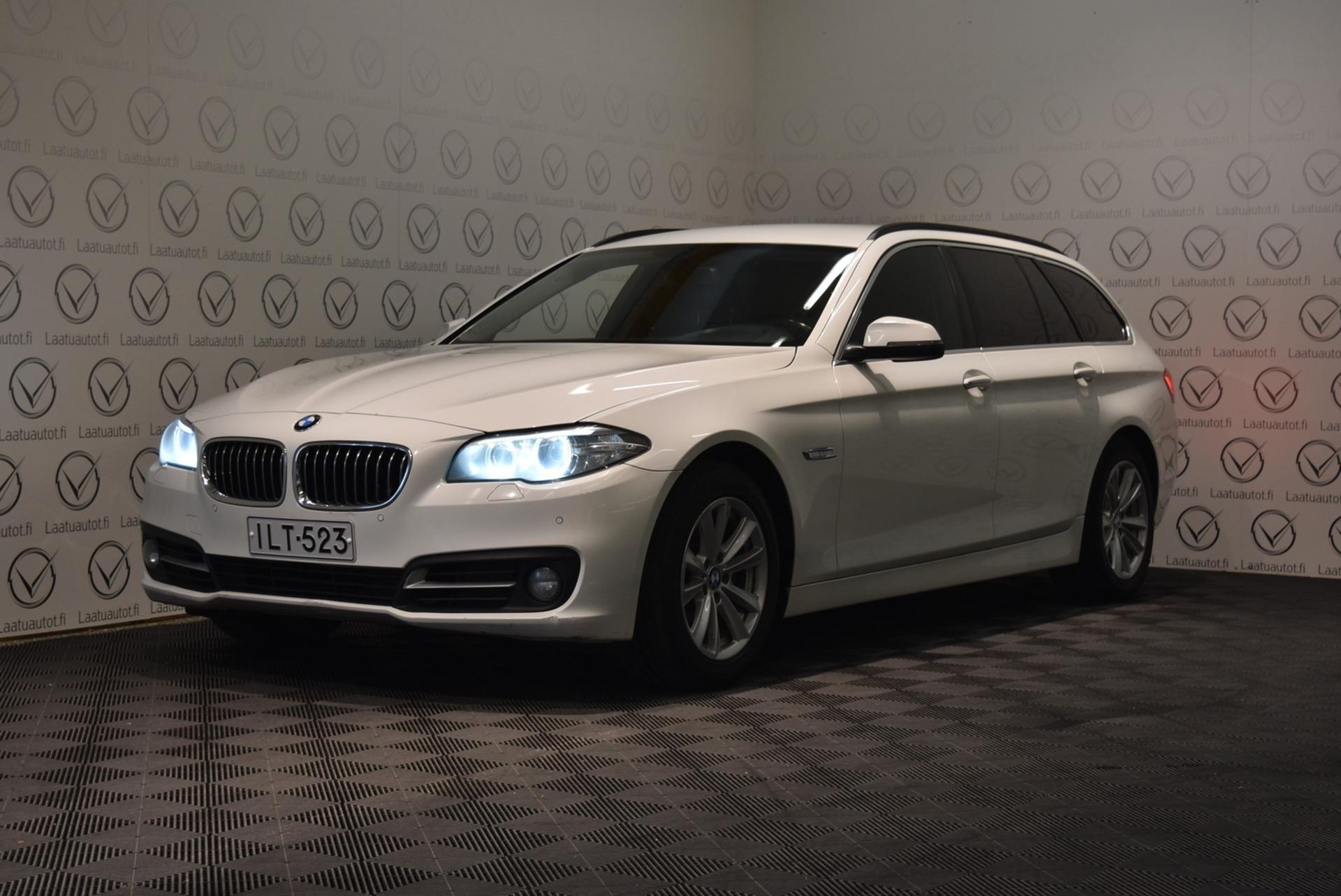 BMW 518 F11 Touring 518d TwinPower Turbo A Business Exclusive - Rahoitus 1.89% jopa ilman käsirahaa! Sportnahat,  Cruise,  Xenon,  PDC