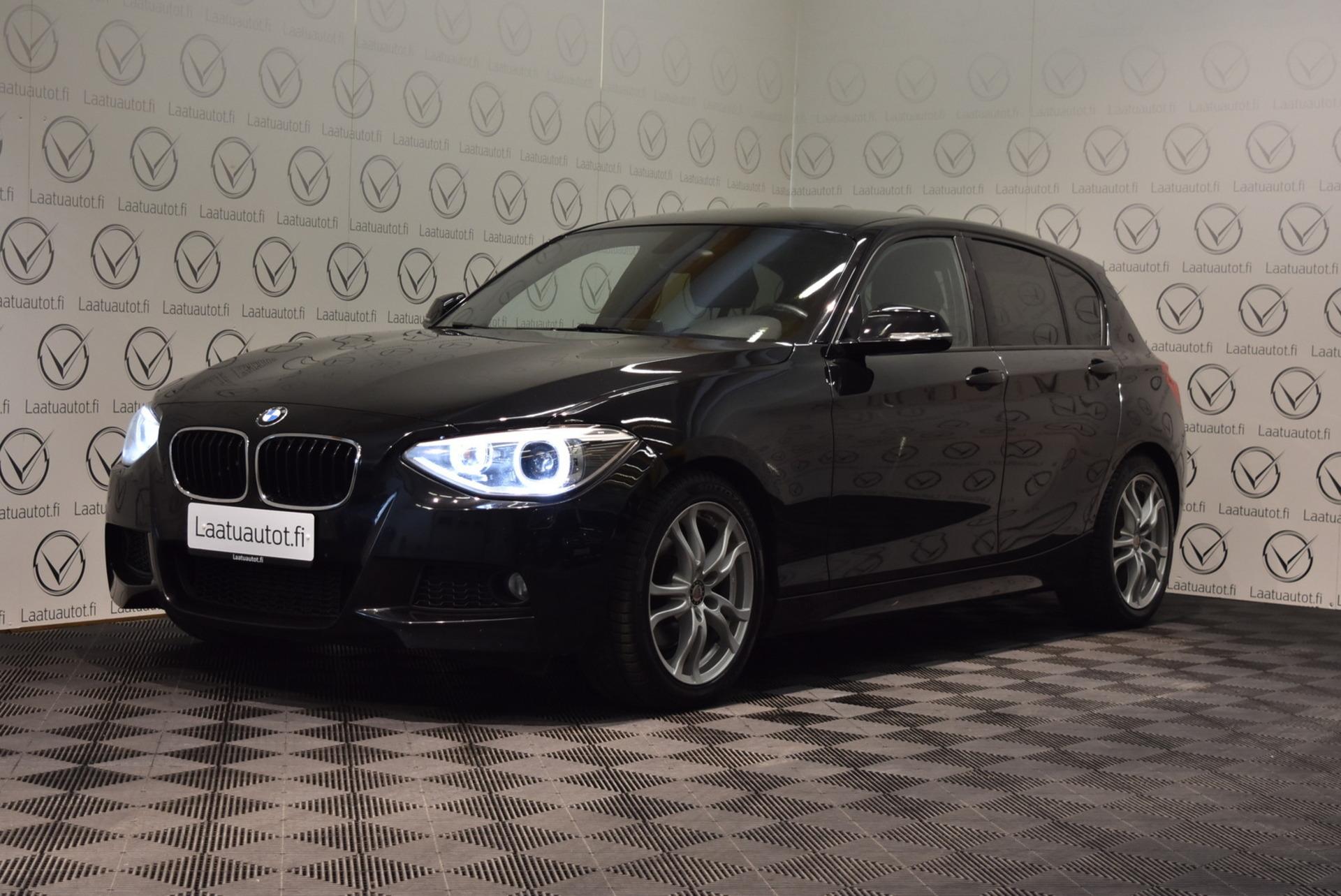 BMW 125 F20 TwinPower Turbo M-Sport - Korko: 1, 89% + kulut! Jopa ilman käsirahaa! Professional Navi,  Sportti Nahat,  Xenonit!