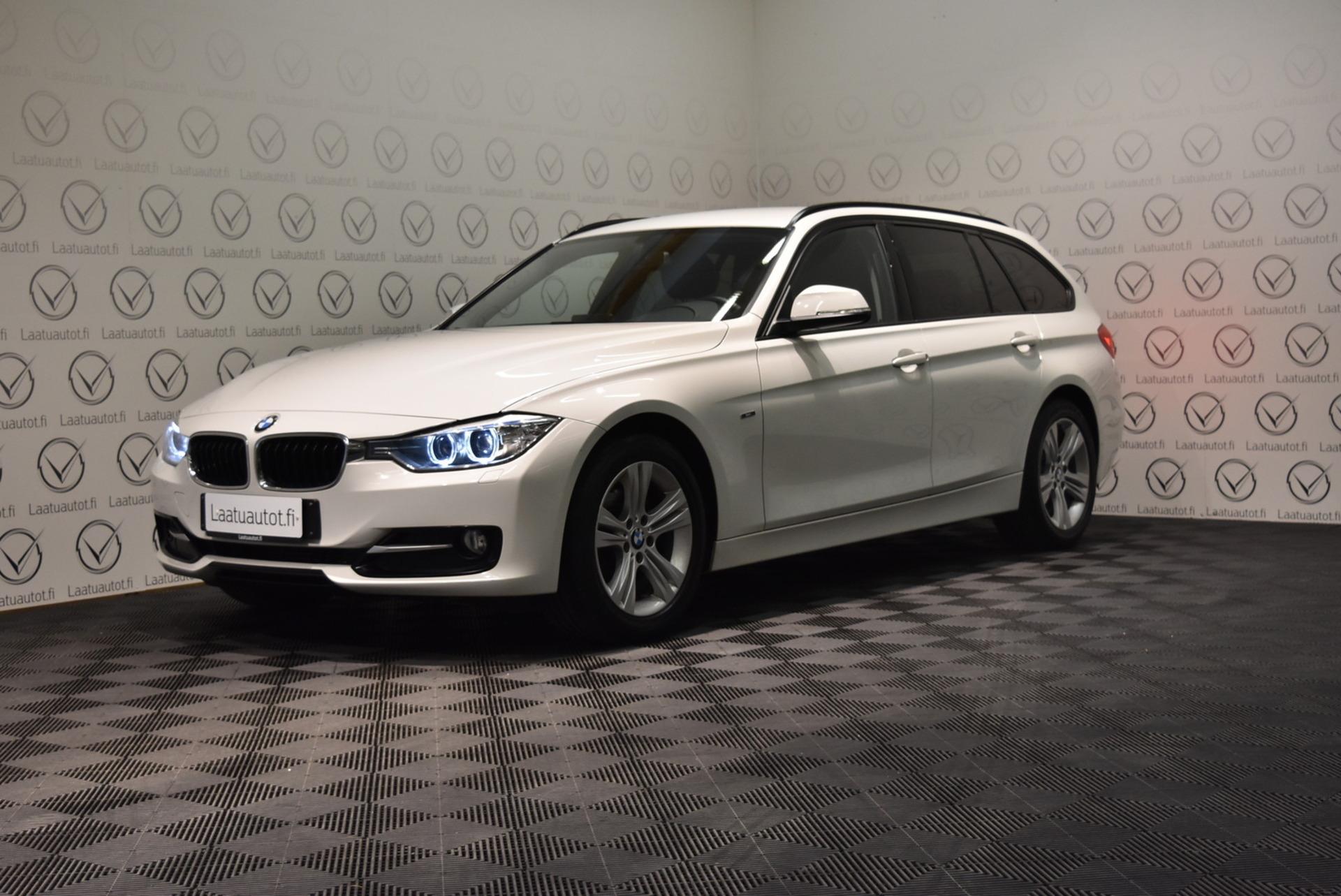 BMW 316 TwinPower Turbo F31 Touring Business Sport - Korko: 1, 89% + kulut! Jopa ilman käsirahaa! Navi,  Sporttipenkit,  Sähköluukku!