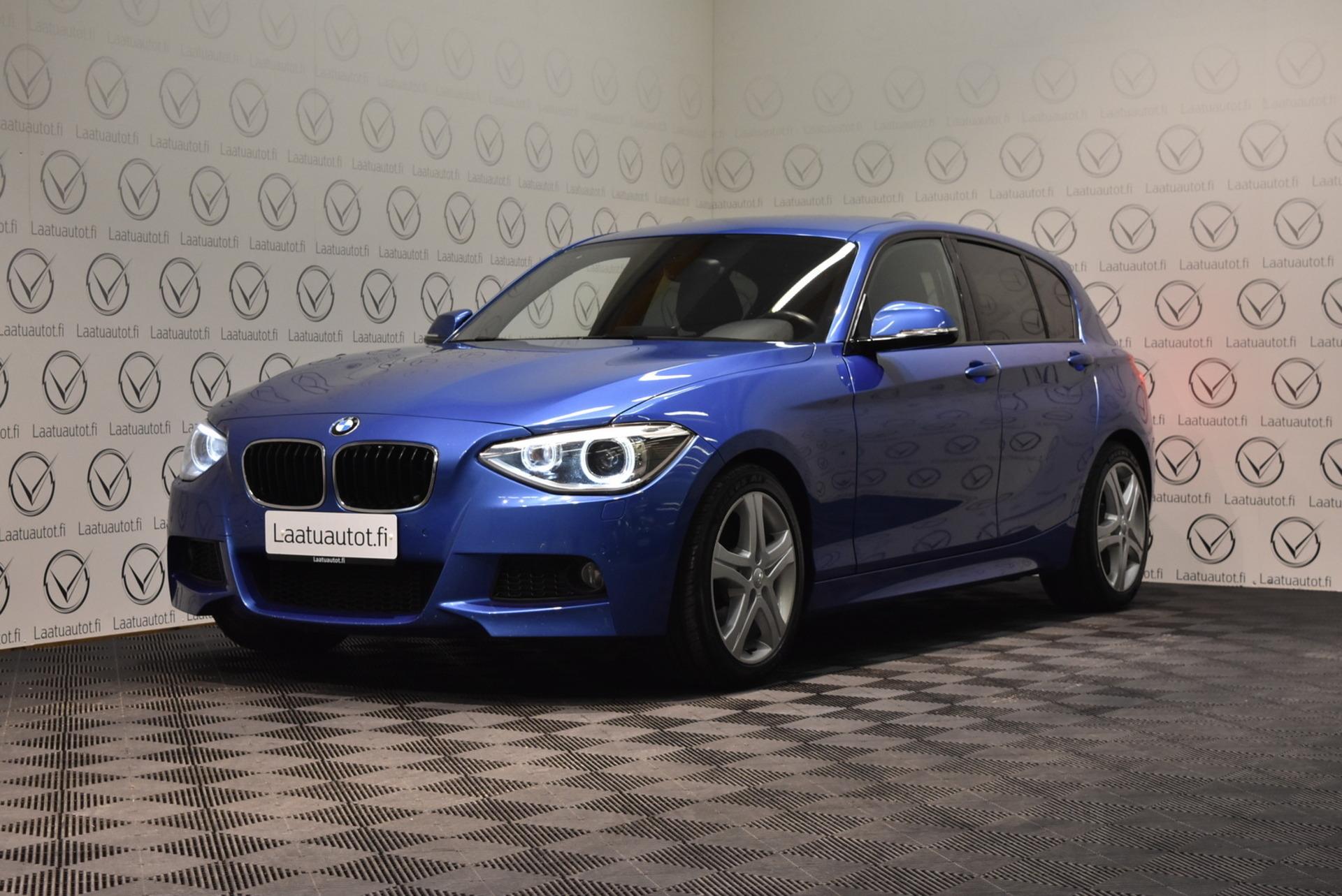 BMW 125 F20 TwinPower Turbo M-Sport A - Korko: 1, 89%,  jopa ilman käsirahaa! Navigointi,  Xenon,  PDC,  Kuntotarkastettu!