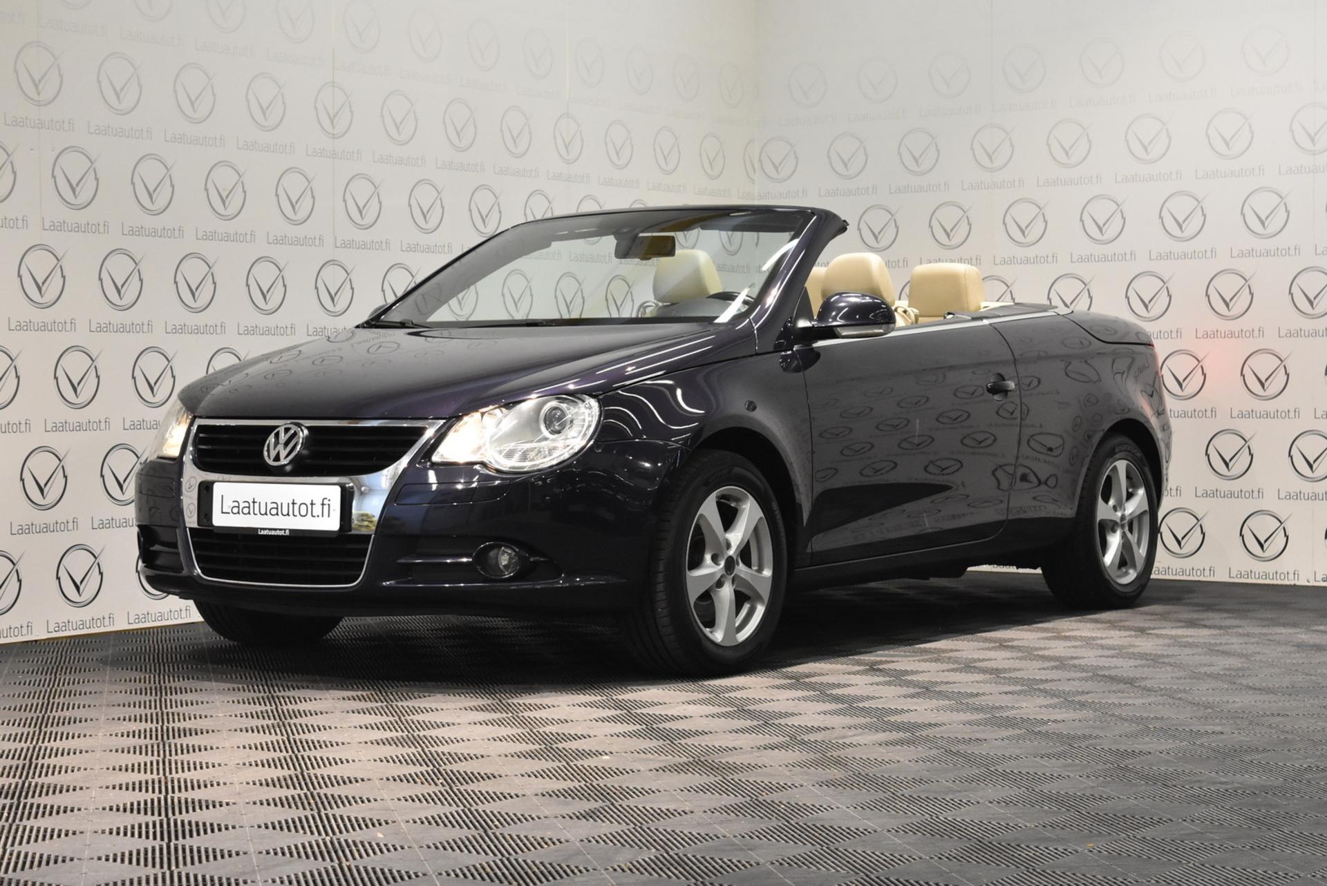 VOLKSWAGEN EOS 2, 0 turbo FSI 147 kW - Korko: 1, 89% + kulut! Jopa ilman käsirahaa!