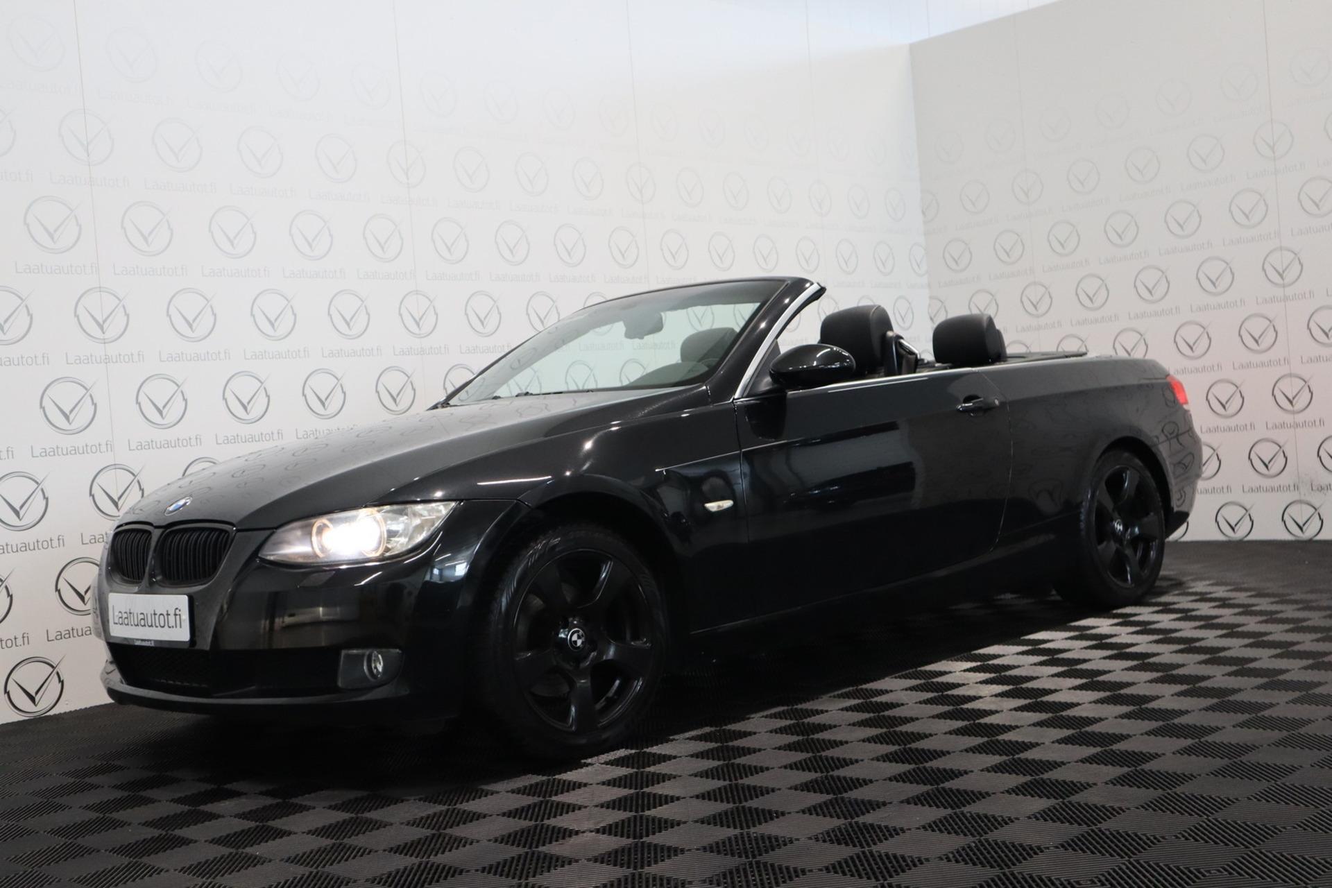 BMW 320 320i e93 - Korko 1, 89%,  rahoitus jopa ilman käsirahaa! Xenon / Nahat / Kuntotarkastettu!
