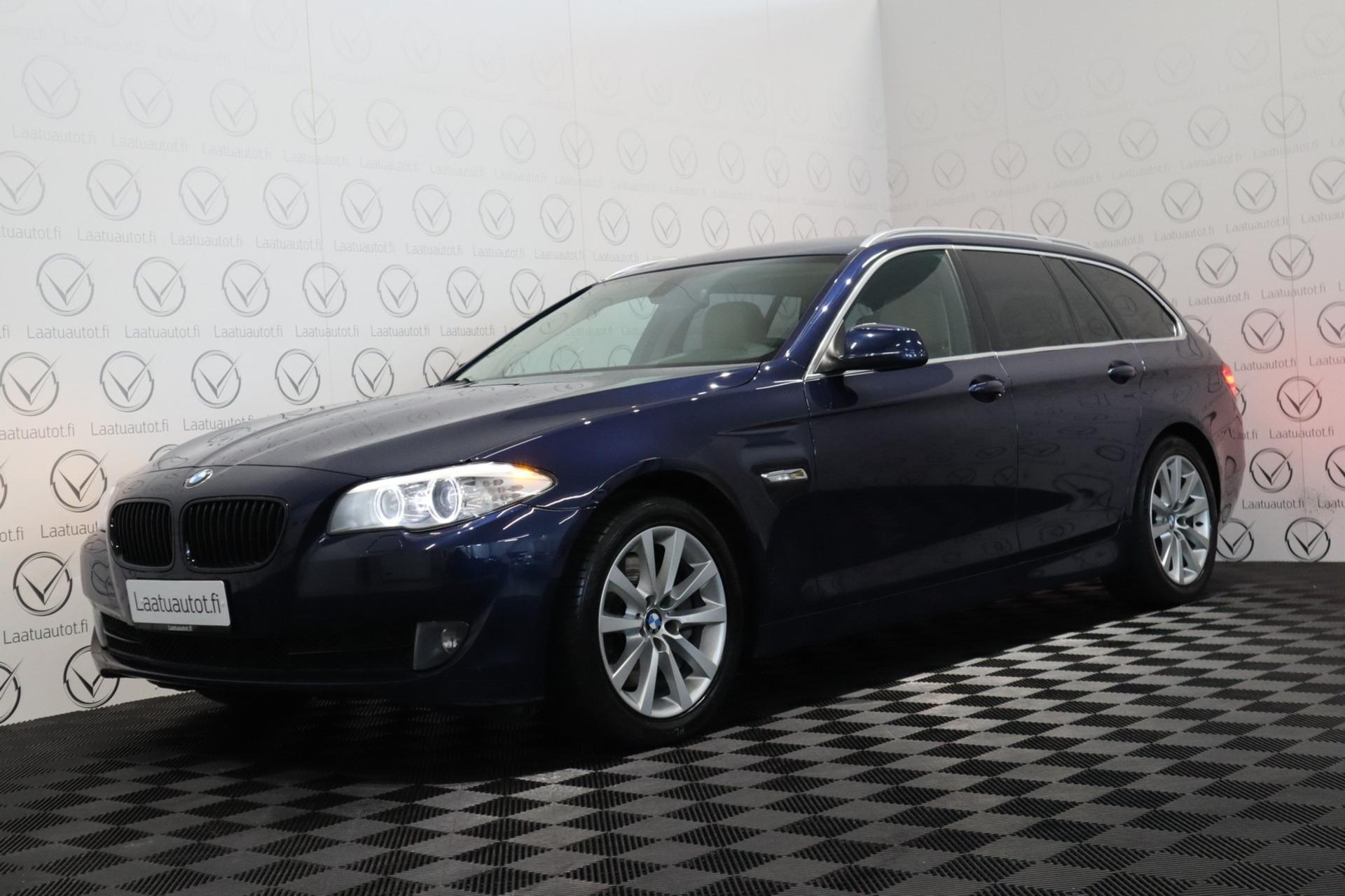 BMW 535 dA F11 Touring - Korko: 1, 89% + kulut! Jopa ilman käsirahaa! Xenon / Nahkasisusta / Navigointi / Kuntotarkastettu!