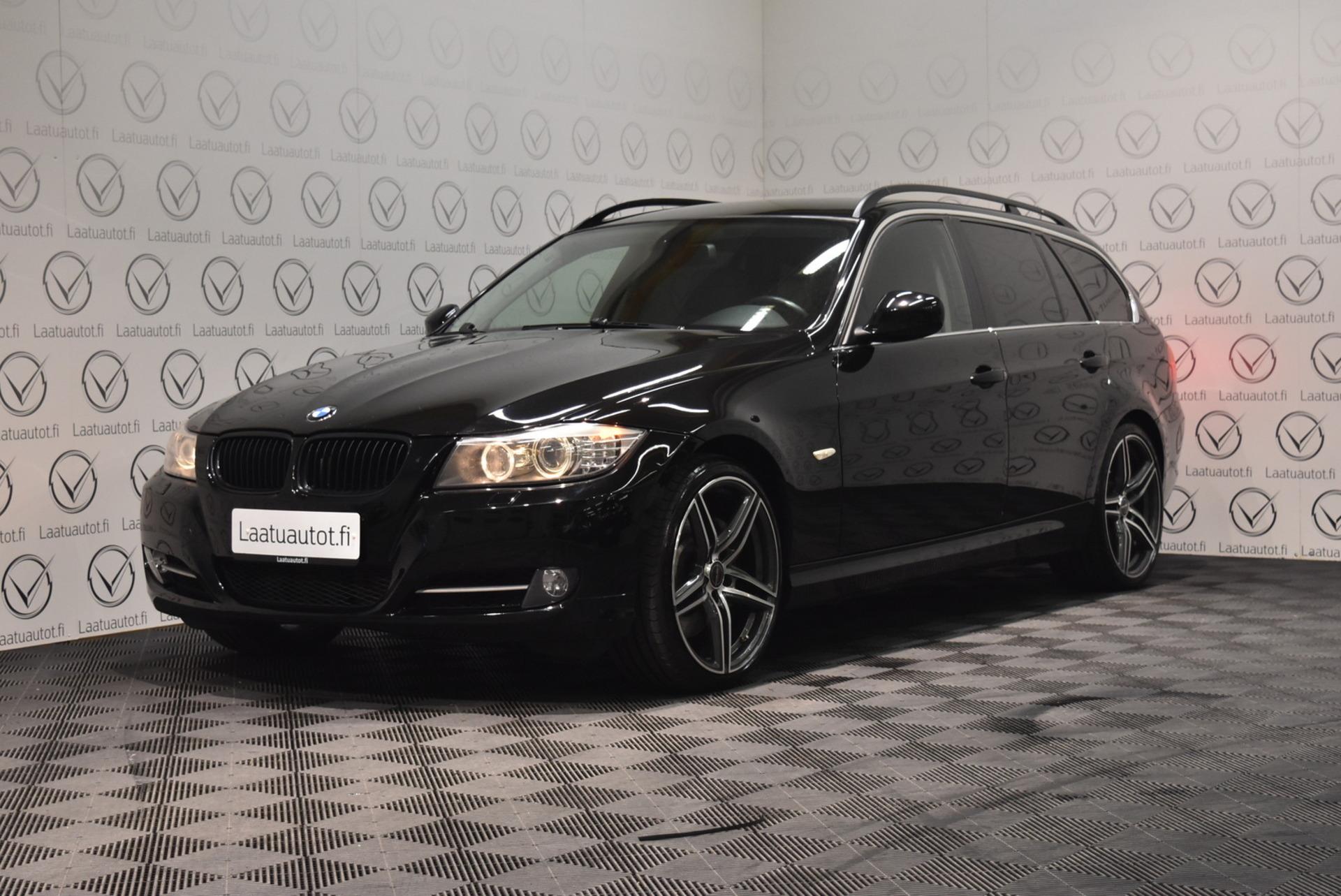 BMW 335 A E91 Touring - Korko: 1, 89% + kulut! Jopa ilman käsirahaa! Xenon,  Pdc,  Urheiluistuimet