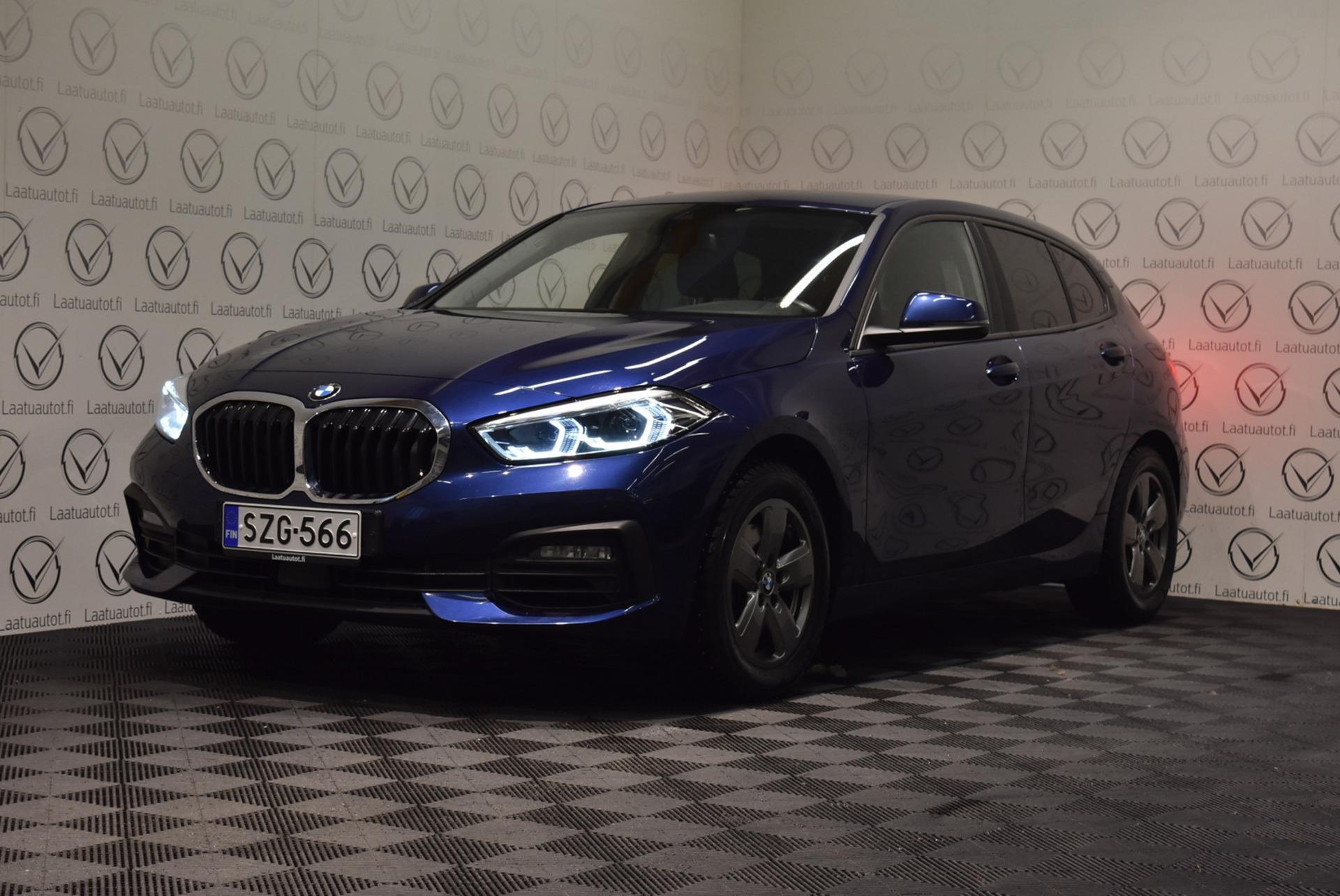 BMW 118 F40 Hatchback 118i Business - Korko: 1, 89% + kulut! Jopa ilman käsirahaa! M-urheiluohjauspyörä,  Led-ajovalot,  Navi,  Cruise