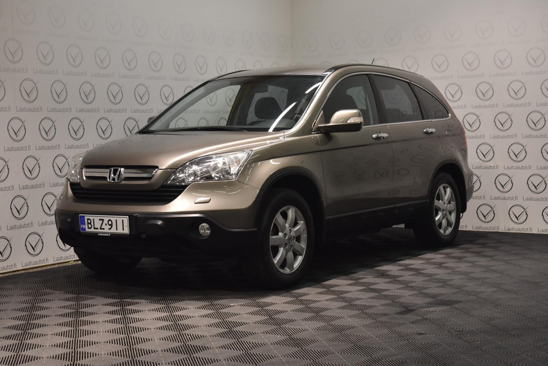 HONDA CR-V 2, 0i Elegance 4WD Business - Korko: 1, 89%,  jopa ilman käsirahaa! Kuntotarkastettu neliveto vetokoukulla!