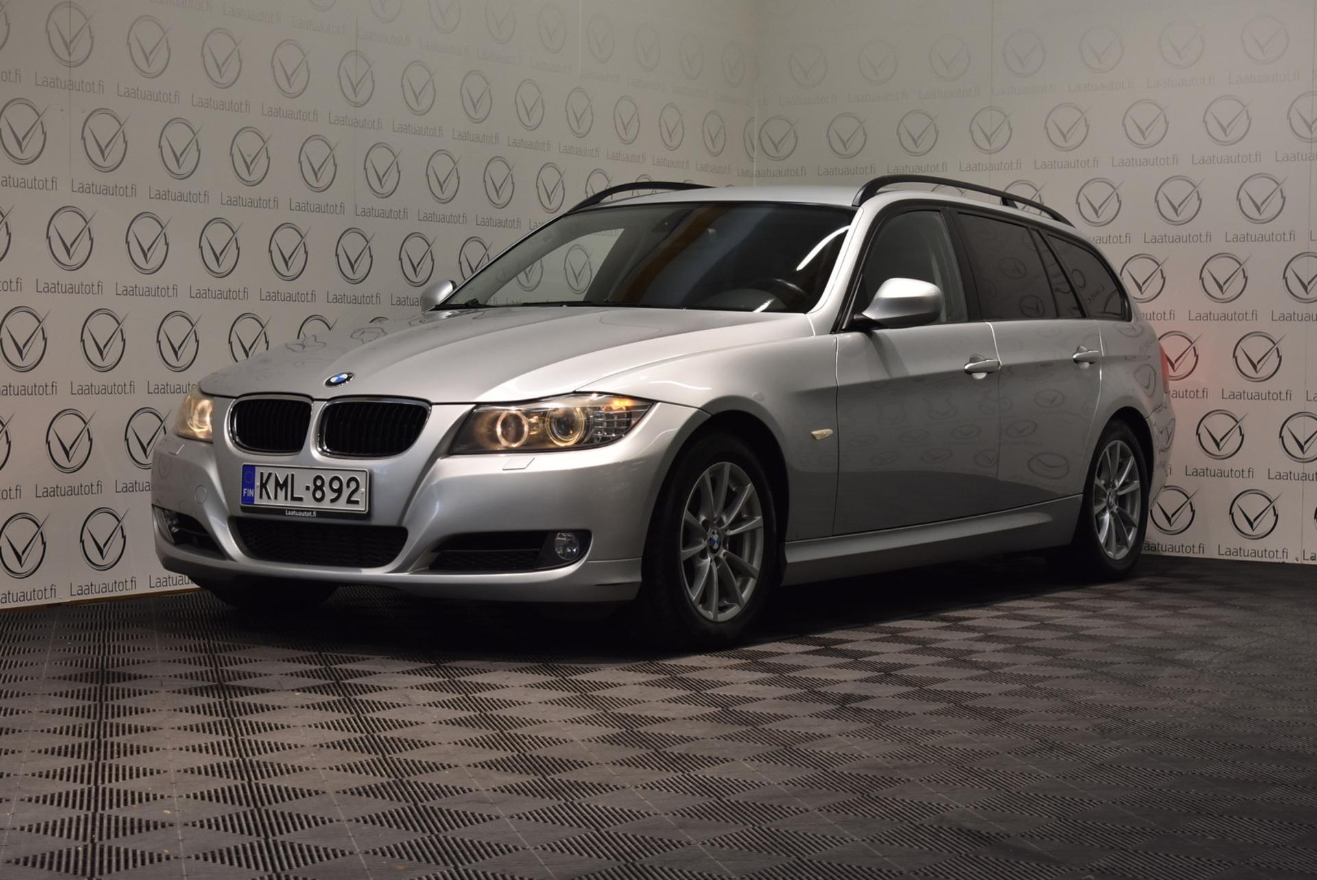 BMW 320 A E91 Touring Business - Korko: 1, 89% + kulut! Jopa ilman käsirahaa! Kuntotarkastettu! Xenon,  Nahat,  Cruise