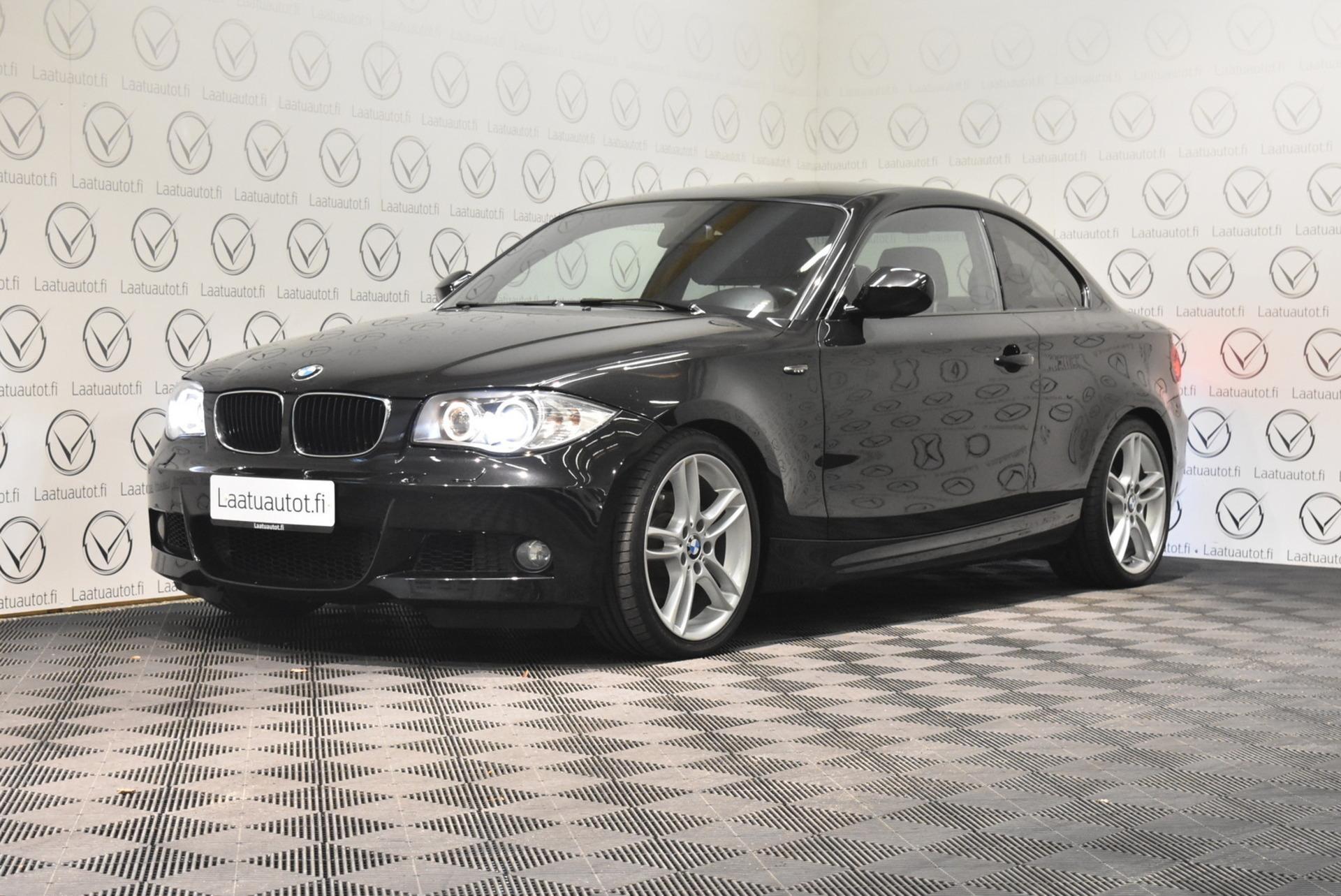 BMW 118 E82 Coupé M-Sport - Korko: 1, 89% + kulut! Jopa ilman käsirahaa!