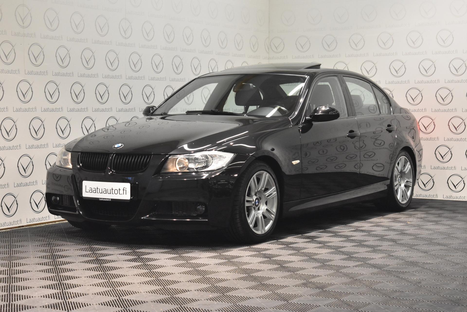 BMW 318 E90 Sedan M-Sport - Korko: 1, 89% + kulut! Jopa ilman käsirahaa! Kattoluukku,  Urheiluistuimet,  Cruise,  Pdc-taakse