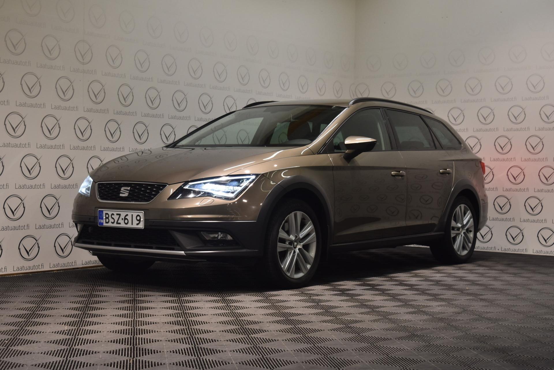 SEAT LEON X-PERIENCE 2, 0 TDI 184 4Drive DSG - Rahoitus 1.89% jopa ilman käsirahaa! Kuntotarkastettu Suomi-auto!