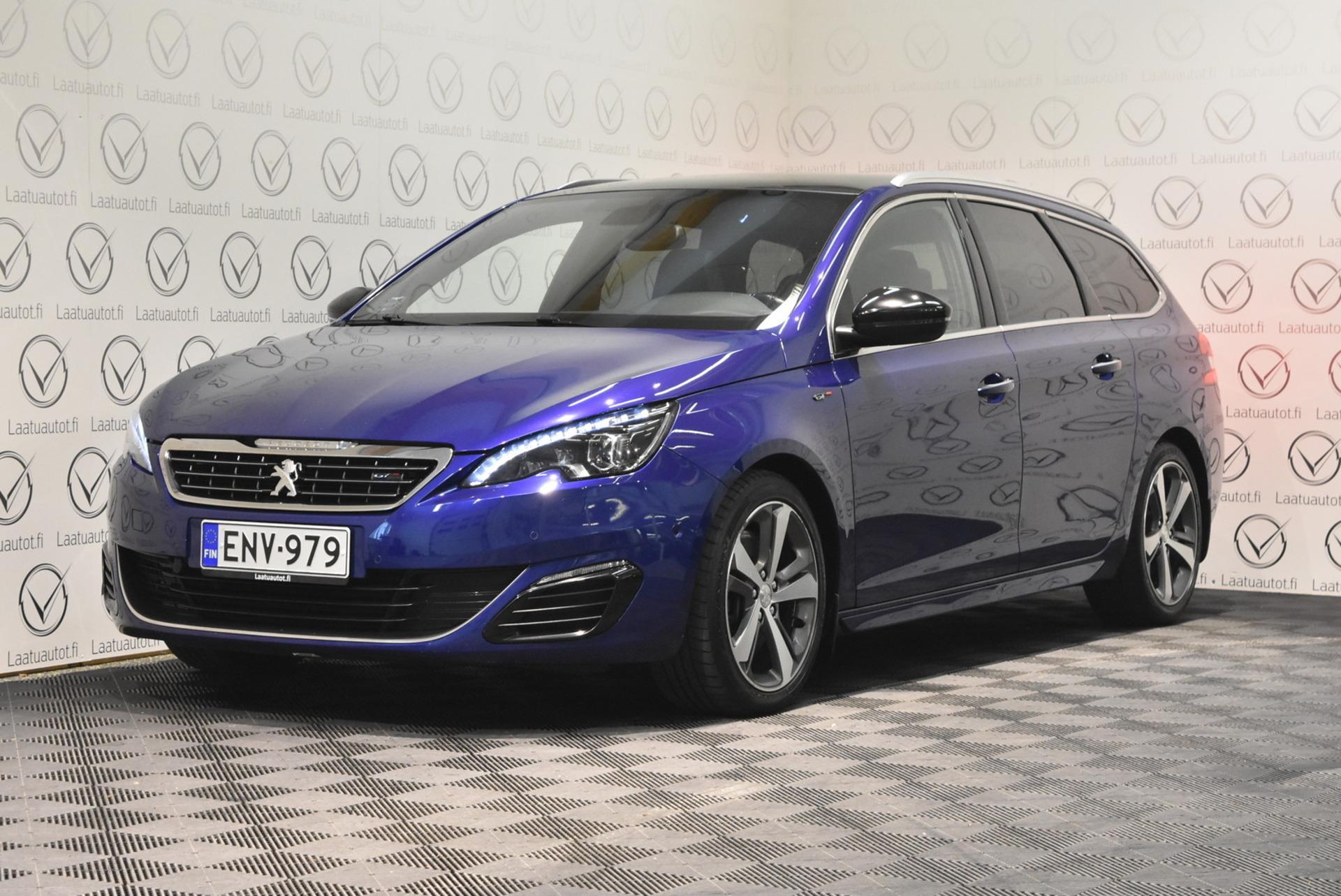 PEUGEOT 308 SW GT BlueHDi 180 Automaatti - Korko: 1, 89% + kulut! Jopa ilman käsirahaa! Huippu varusteet!! Kuntotarkastettu Suomiauto!!