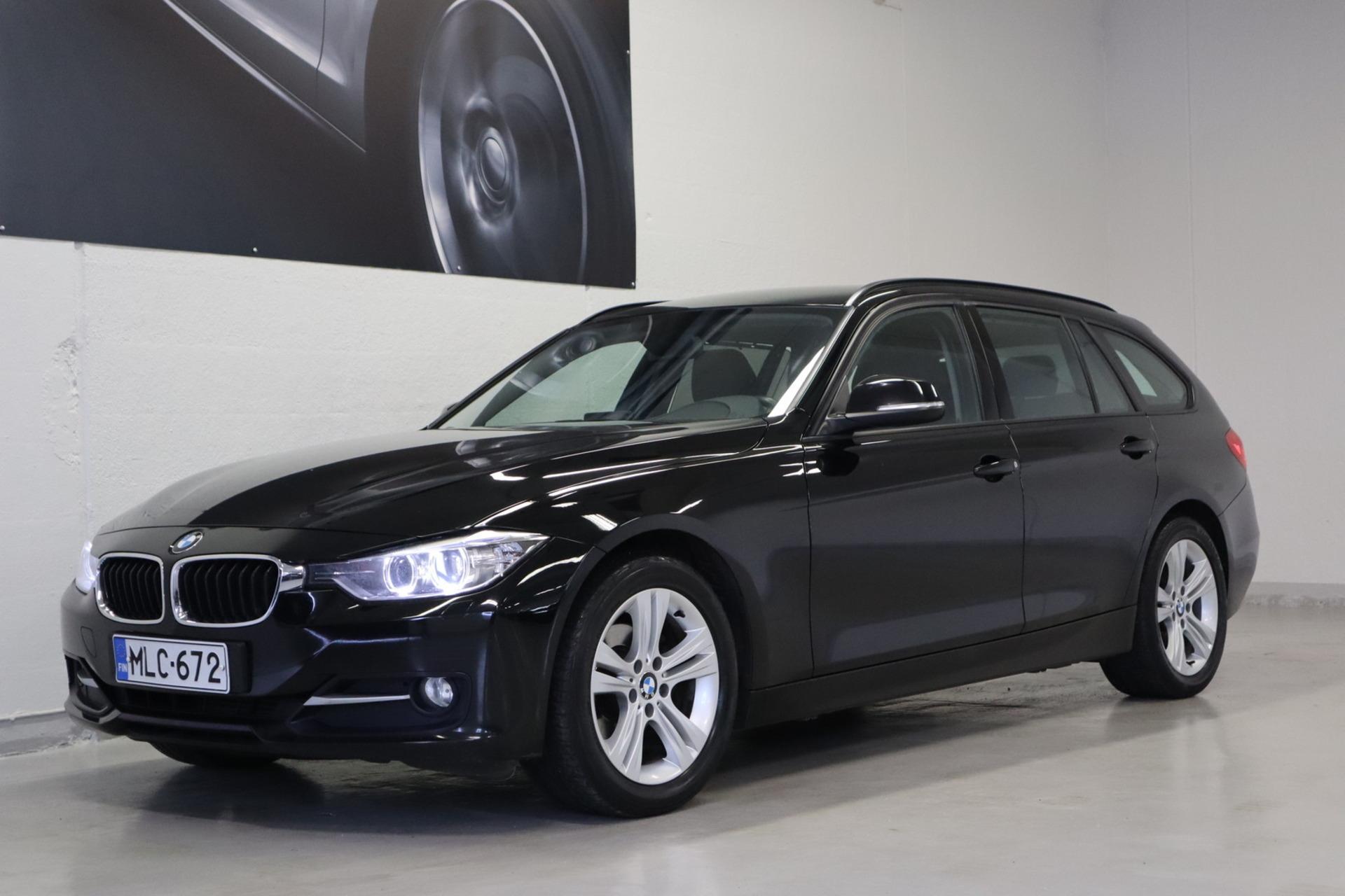 BMW 318 TwinPower Turbo A F31 Touring Business Sport - Korko 1, 89%,  jopa ilman käsirahaa! *** Sport-istuimet / PDC / Cruise / Sähk.kontti / Bluetooth ***