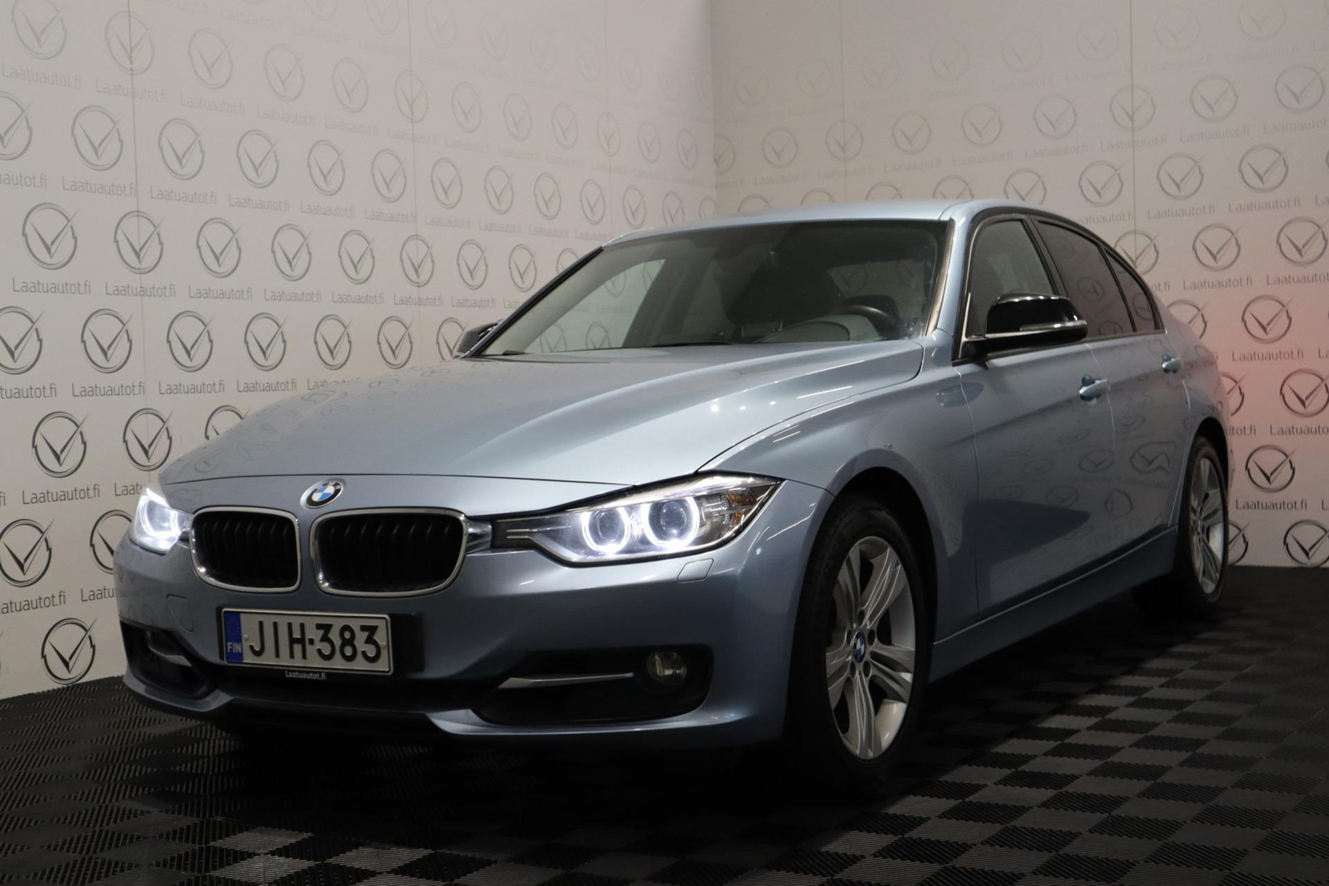 BMW 320 TwinPower Turbo A xDrive F30 Sedan Business Automatic Edition Sport - Korko: 1,  89%,  Jopa ilman käsirahaa! Sport-penkit,  Xenon,  Tutkat,  Vakkari
