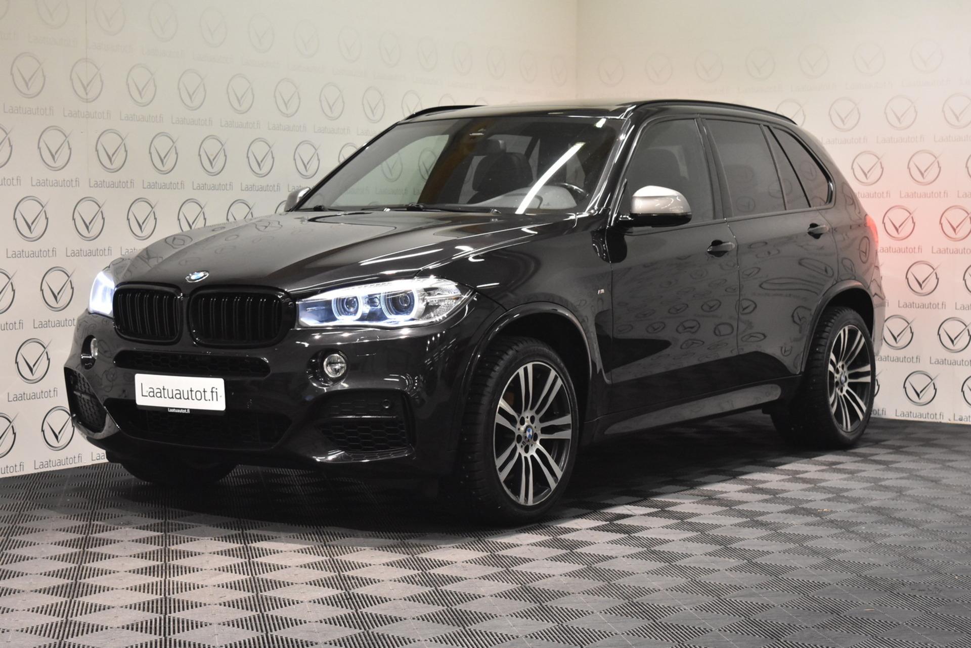 BMW X5 F15 X-Drive M50d - Korko: 1, 89% + kulut! Jopa ilman käsirahaa! Panorama,  Comfort penkit muistilla,  HiFi,  Pro.Navi,  Kamera,  Taittuva koukku!